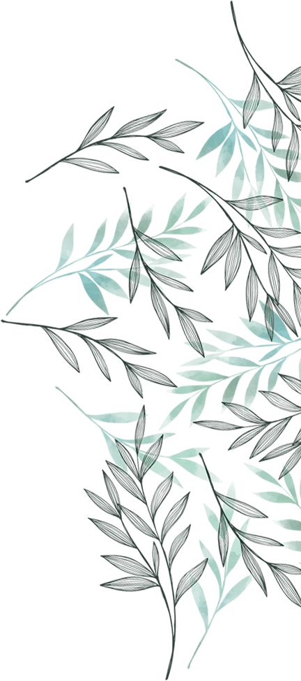 Leaves graphic